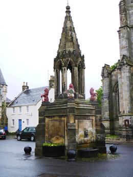 Photo of Edinburgh St Andrews and Fife Small Group Day Trip from Edinburgh Fife, Falkland, Bruce Fountain 1