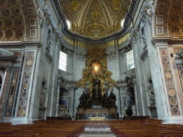 Photo of Rome Skip the Line: Vatican Museums, Sistine Chapel and St Peter's Basilica Half-Day Walking Tour Im Petersdom