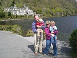 In front of Kylemore Abbey in County Galway, Connemara., Amy K - May 2008