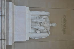 Lincoln Memorial which we were able to view as we got off of the Hop-On-Hop Off Tour. , Ken K - October 2012