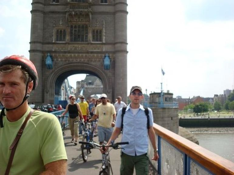 London Tower Bridge on the East London Bicycle Tour - London