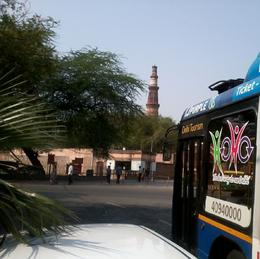 Getting close to Qutub Minar, brightyoungthing - April 2013