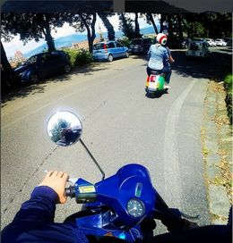 Scooting about , Suandi S - May 2016