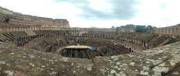 Photo of Rome Ancient Rome and Colosseum Tour: Underground Chambers, Arena and Upper Tier The beast from inside