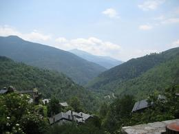 One view of the Pyrenees from Queralbs, shortly after arrival., Bernadette L - July 2010