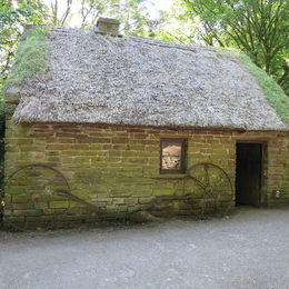 Thatched Roof House in Bunratty Park. , Deborah Y - July 2015