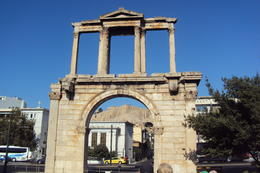 Photo of Athens Hidden Athens Walking Tour and Picnic: Plaka and the Hills of Athens Arch of Hadrian