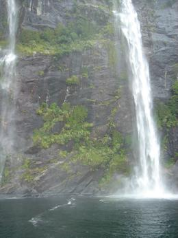 The rain gave us beautiful waterfalls. Unforgettable., PETER Q - April 2009