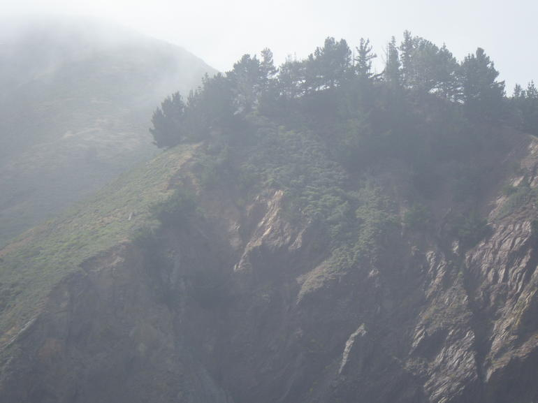 Cliffs and scenery - San Francisco