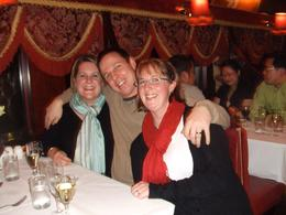 Belinda, from Melbourne, Kane & Debbie from New Zealand. - September 2008