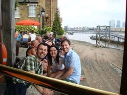 Photo of London London Bike Tour - East, West or Central London Enjoying a pint on tour!