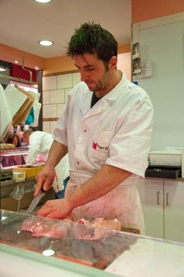 Photo of Florence Small-Group Italian Cooking Class in Florence Fresh chicken from the butcher