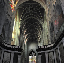 Photo of Brussels Ghent and Bruges Day Trip from Brussels Inside the stunning Saint Bavo Cathedral Ghent