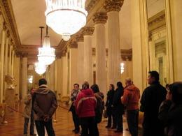 Got a chance to see the inside of this famous theatre hall. - December 2008