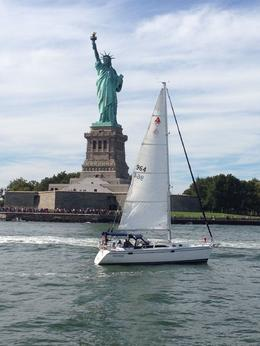 Photo of New York City Statue of Liberty Tall Ship Sailing Cruise Lady Liberty