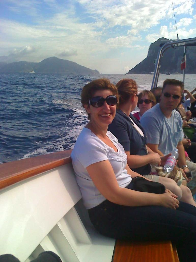 On the way to the Blue Grotto - Rome