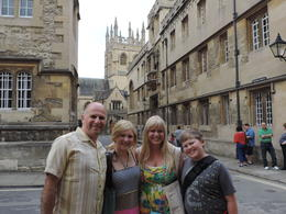 The town and university of Oxford are outstanding! Our daughter was so enamored with it all that she has vowed to study there one day...I pray she gets a scholarship :) , Phil N - September 2013