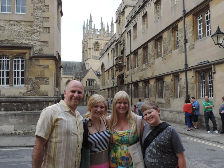 Our tour of Oxford - London