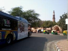 Photo of New Delhi Delhi Super Saver: Hop-On Hop-Off Tour and Skip-the-Line World Heritage Site Tickets Qutub Minar