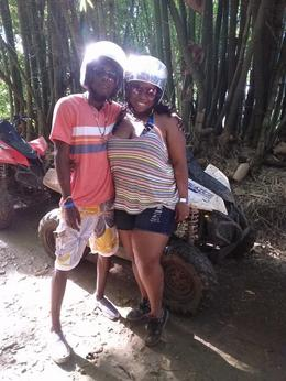 Photo of Montego Bay Jamaica ATV Off-Road Adventure to Sandy Bay Taking a Break