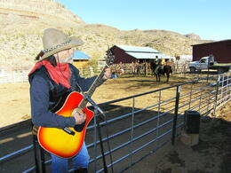 Photo of Las Vegas Grand Canyon Helicopter and Ranch Adventure The Singing Cowboy