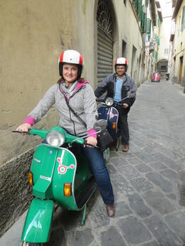 Photo of Florence Florence Vespa Tour: Tuscan Hills and Italian Cuisine Vespas