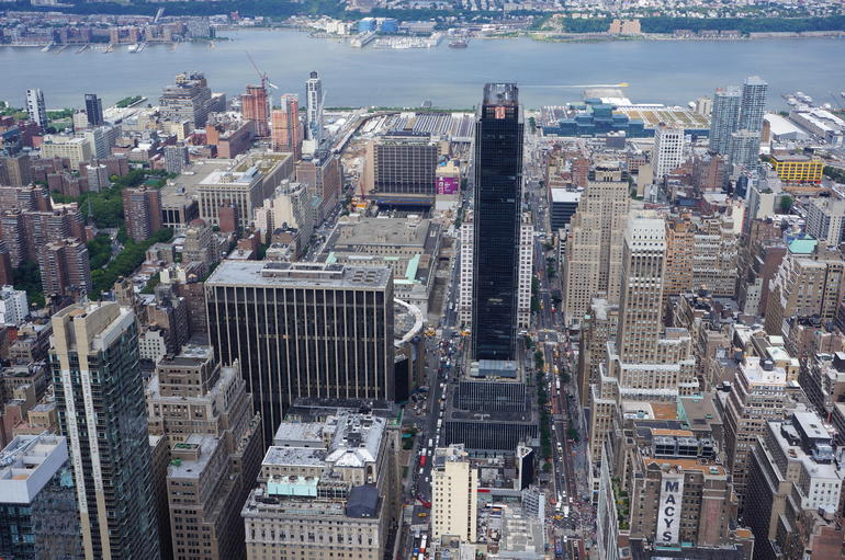 View from the top! - New York City