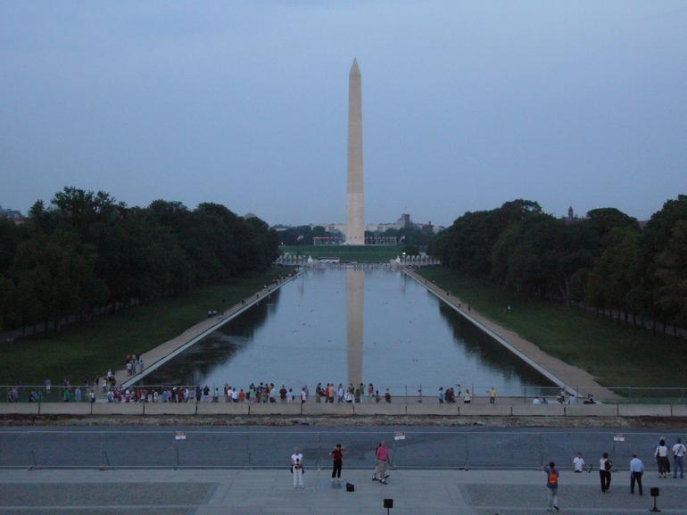 Washington Monument at Dusk - Washington DC