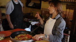 Photo of Rome Small-Group Cooking Lesson in Roman Countryside Chef