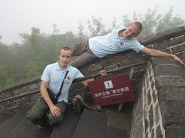 "Photo of Beijing Great Wall of China at Badaling and Ming Tombs Day Tour from Beijing ""Commit No Nuisance"""