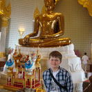 Photo of Bangkok Private Tour: Bangkok Temples including reclining Buddha at Wat Pho Dominic and the Golden Buddha