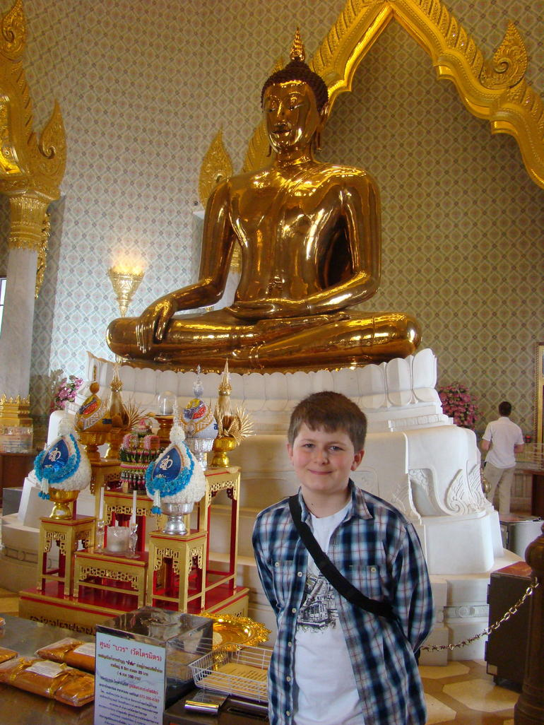 Dominic and the Golden Buddha - Bangkok