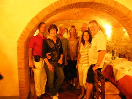 Photo of Florence Chianti Region Wine-Tasting and Dinner Half-Day Trip from Florence DSCF3888.JPG Keith and Pat