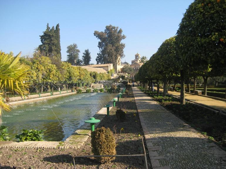 Gardens at the Alcazar, Cordoba - Seville