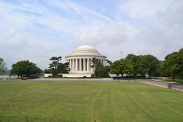 Jefferson Memorial from the Hop-On-Hop Off Tour. , Ken K - October 2012