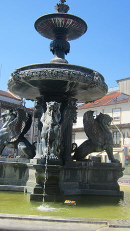 Photo of Porto & Northern Portugal Porto Food and Wine Tasting Tour Lion Square, or Gomes Teixeira Square. The meeting point