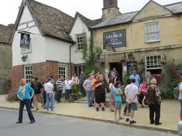 This was the pub we had our meal in. We chose beforehand what we wanted and it was called in while we were at Windsor Castle. Everything was ready when we got there and served within 10 minutes. ... , Nancy - June 2014