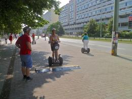 Photo of Berlin Berlin Segway Tour Oh boy, there's a bump coming up!