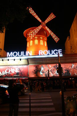 "Photo of Paris Dinner Cruise with ""La Marina de Paris"" and Moulin Rouge Show Paris 2011 - the show"