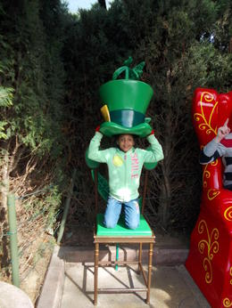 Photo of Paris Disneyland Resort Paris with Transport Shazzi the Madhatter!