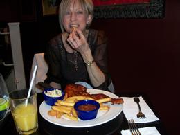 Photo of Lisbon Hard Rock Cafe Lisbon Small portions ha ha!!