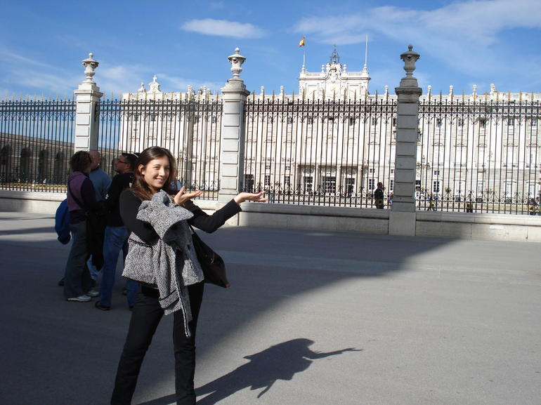 Ta-da! The Palacio Real - Madrid
