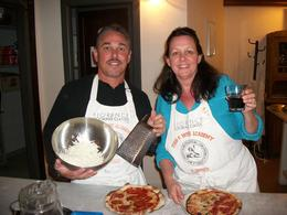 Photo of Florence Florence Cooking Class: Learn How to Make Gelato and Pizza The finished product!