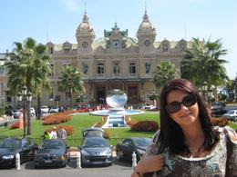 Rahela. Back ground is The Grand Casino in Monte Carlo. sep. 2009, Dmitriy M - September 2009