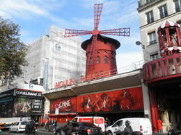 Photo of Paris Montmartre Impressionist Art Walking Tour Including Skip-the-Line Musee d'Orsay Ticket The Moulin Rouge