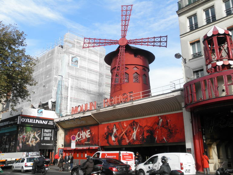 The Moulin Rouge - Paris