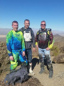 Me and the other boys that was on the dirt bike tour :- , Carrie&Bob - January 2016