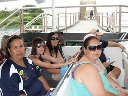 My family and i leaving the USS Arizona memorial. Such a wave of emotions, a must see for any one visiting Oahu. , Roshy - May 2011