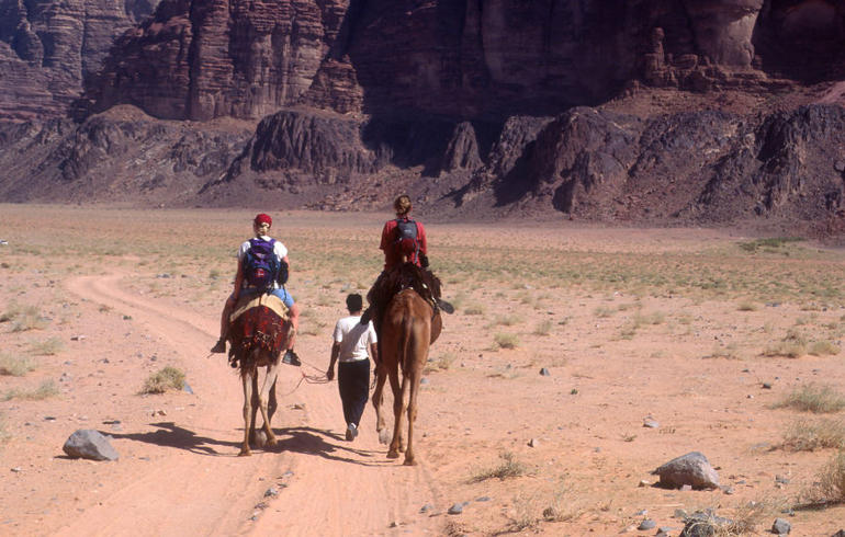 Wadi Rum camel riding - Amman