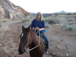 Photo of Las Vegas Wild West Sunset Horseback Ride with Dinner 40th HOLIDAY !!! 315
